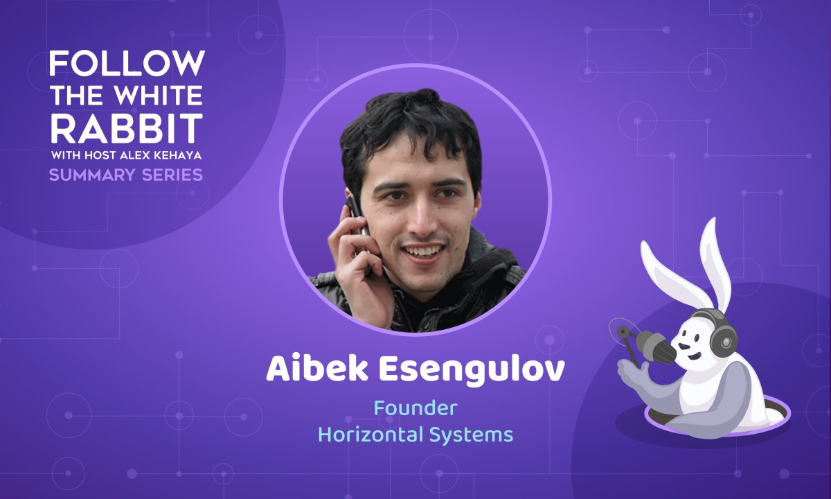 Aibek Esengulov on Keeping Control of Your Money and the Power of Blockchain